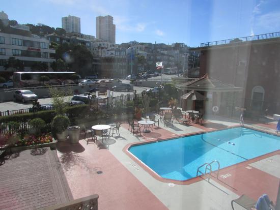 Wall Peeling Picture Of Holiday Inn San Francisco Fishermans Wharf San Francisco Tripadvisor
