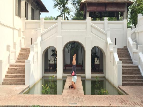 Satri House: Colonial style and very good breakfast