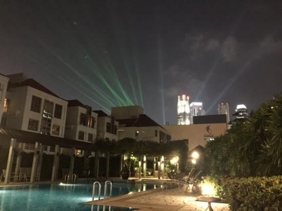 lights from marina bay sands picture of village residence clarke rh tripadvisor com sg