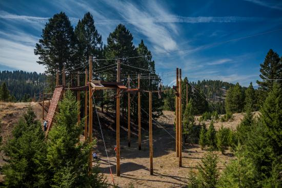 Philipsburg, MT: The Ropes Course