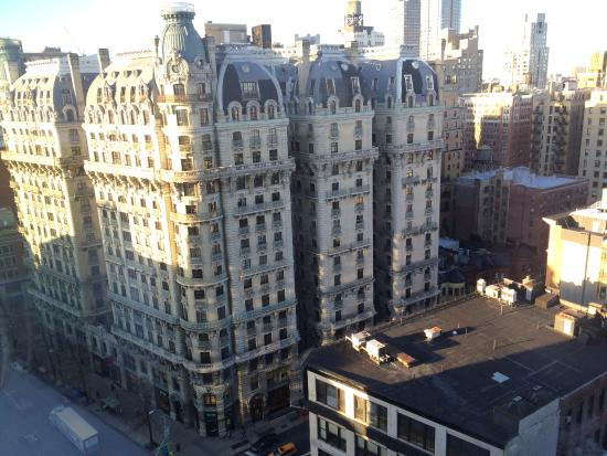 view from corner suite of hotel beacon across broadway picture of rh tripadvisor com au