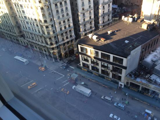 looking out from corner suite at fairway across broadway picture rh tripadvisor com
