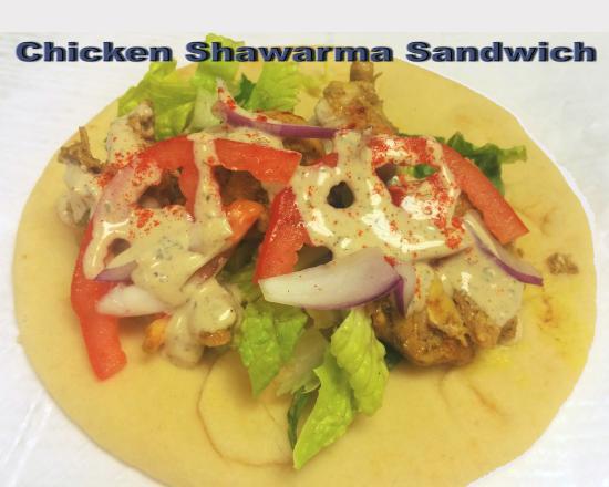 Mary's Mediterranean Kitchen: Shawarma Sandwich