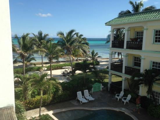 Oasis del Caribe: Beautiful view from 3rd floor, Unit #12