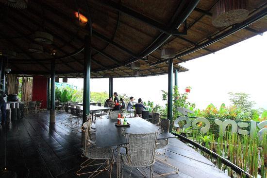 Khao Kho, Thailand: บริเวณที่นั่งทานอาหารเช้า