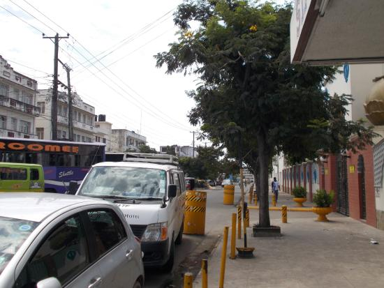 Singh Restaurant: View of parking space