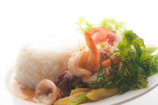 Lat Yao, Tailandia: ข้าวกระเพราทะเล