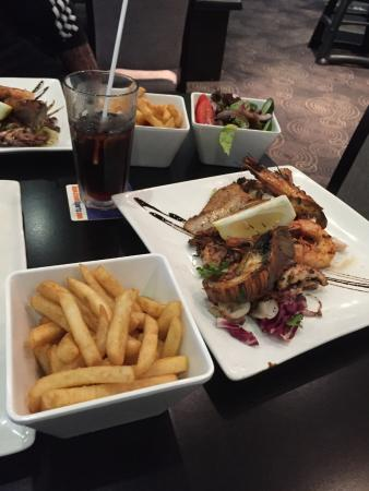 Birrong, Australie : Seafood Plate