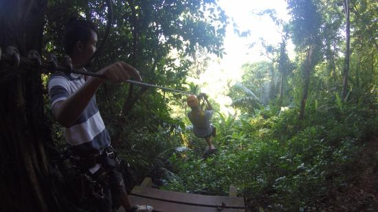 Cable Jungle Adventure: Ziplining in Phuket!