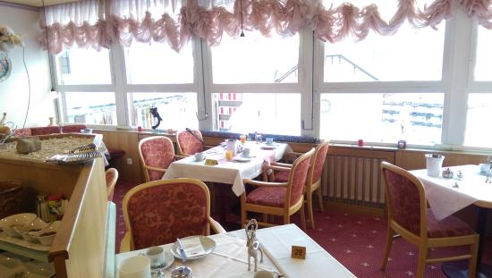 Hotel Escher: Sala per la colazione