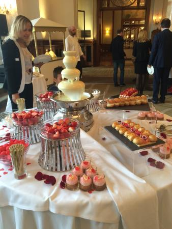 one of the three dessert tables picture of montreux palace rh tripadvisor co uk