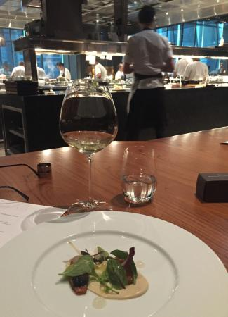 kitchen view from the chef s table picture of dinner by heston rh tripadvisor co za