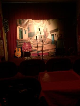 La Corte dei Miracoli Cabaret : palco