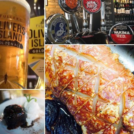 The Champion: Sunday Roast and Cask Marque Ales