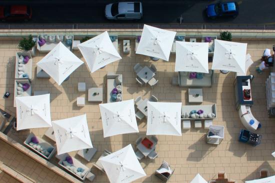 dachterrasse bild von waldorf astoria berlin berlin tripadvisor. Black Bedroom Furniture Sets. Home Design Ideas