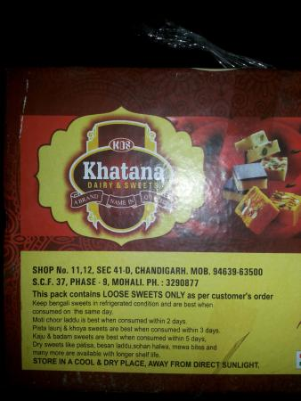 Khatana Dairy & Sweets