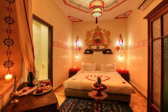 Riad Dar Anika: Room 11 Crown. Good for single traveller.