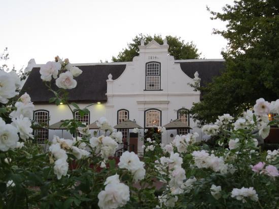 The Restaurant At Neethlingshof: Restaurant Manor House