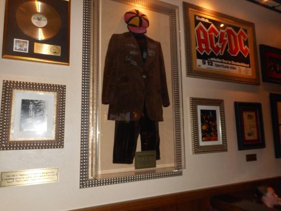 Ac Dc Picture Of Hard Rock Cafe Orlando Tripadvisor