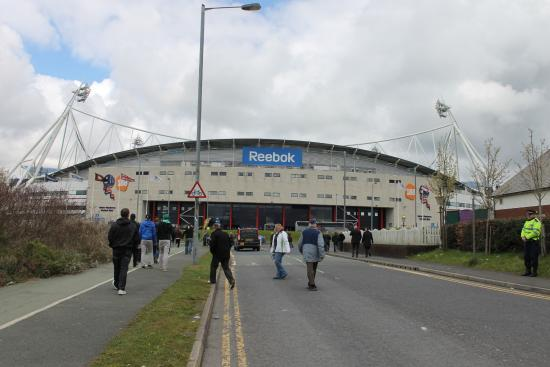 Bolton, UK: Stadion