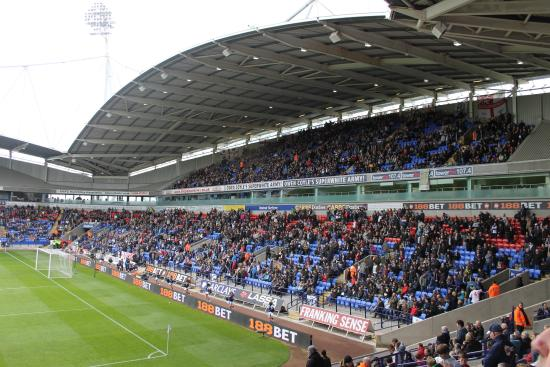 Bolton, UK: Achter de goal
