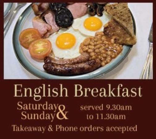 Stottesdon, UK: Weekend Breakfast @ The Cocks