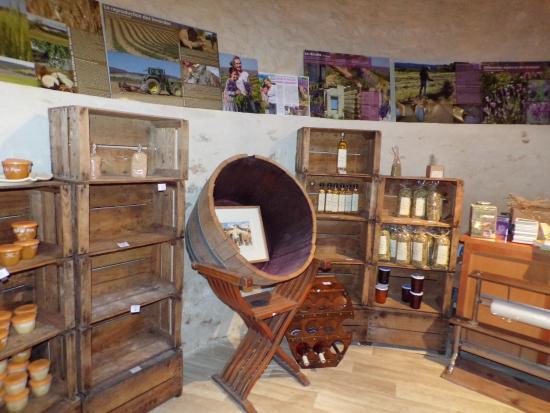Le Chateau de la Gabelle: boutique