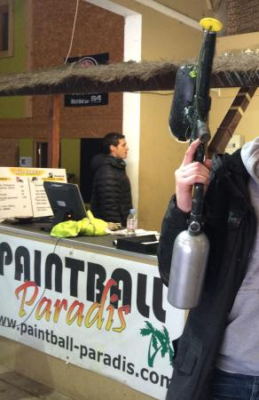 Paintball Paradis