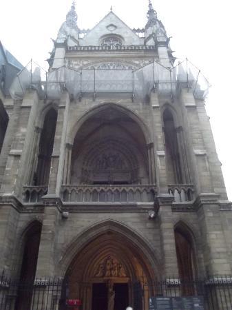 Paris, Fransa: Exterior of Sainte Chapelle