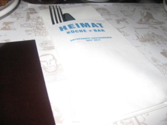 Heimat -Küche - Bar kündigt Wohlbefinden an , was wir ...