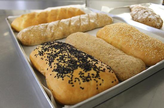 Camporosso, Italy: pane fatto in casa
