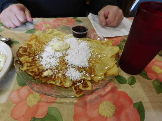 Kingsburg, CA: pancakes