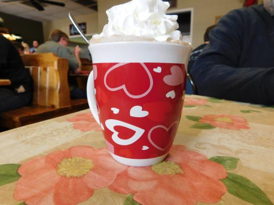 Kingsburg, CA: hot cocoa