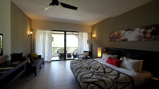 Belle Mare: Zimmer 323