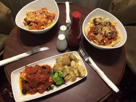 The George Hotel Chepstow: A Few Meals