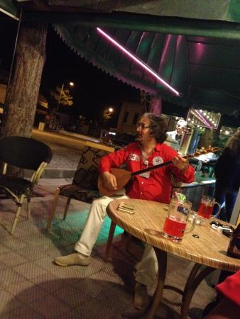 Live music during one of the fun evenings at Monastery Cave Hotel