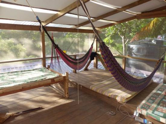 Hostal La Buena Onda: Rooftop - best place for wi-fi