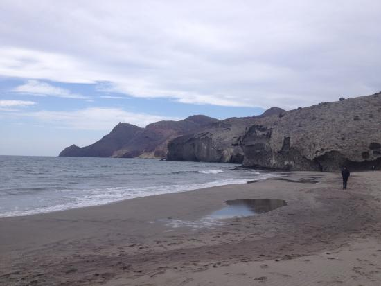.The coastline. - Photo de Monsul Beach, San Jose - TripAdvisor