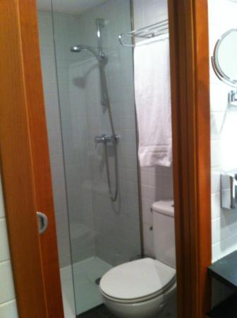 Hotel Font d'Argent: Ducha y bañera