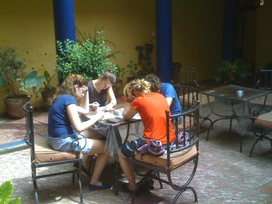 Academia Latinoamericana de Espanol: You can take classes at the beautiful sunny patio