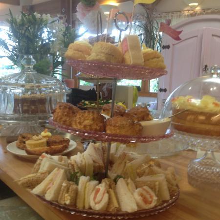vintage afternoon tea picture of cafe fleur liskeard tripadvisor rh tripadvisor co uk