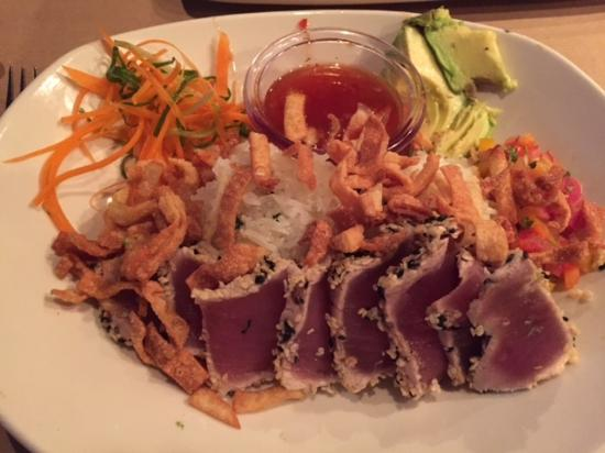 Tuna Bowl Picture Of Bonefish Grill Lake Worth Tripadvisor