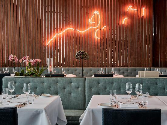 Phoenix Restaurant Im Dreischeibenhaus Dusseldorf Restaurant