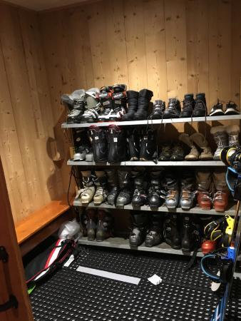 Chalet Arktic: Boot room