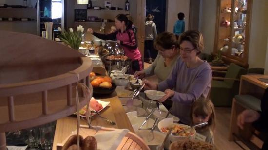 Lengauer Hof : There is a great breakfast buffet