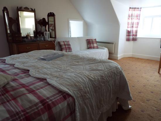 Inchbae Lodge Inn: Deluxe double room