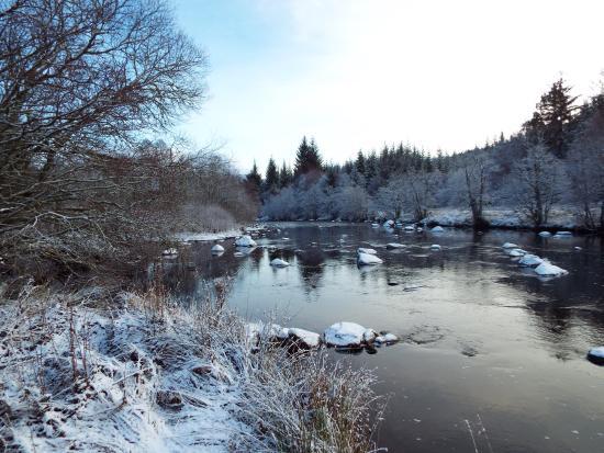 Inchbae Lodge Inn: Winter at Inchbae