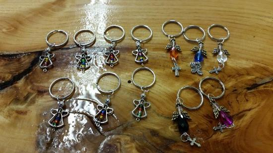 Handmade Keychains - Picture of The Five Sisters, LLC, Moose Lake