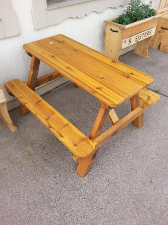 The Five Sisters, LLC: Handmade Picnic Table (Summer Product)