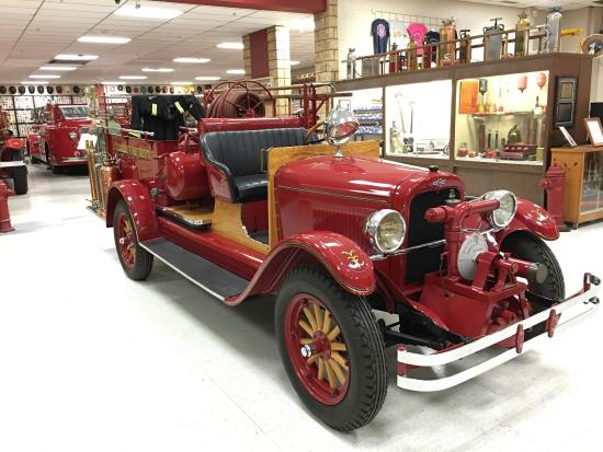Oklahoma Firefighters Museum: Great place to go see the history of fire fighting equipment